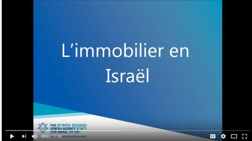 immobilier en Israël