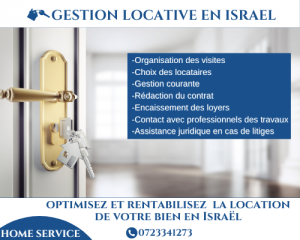 Home service gestion locative